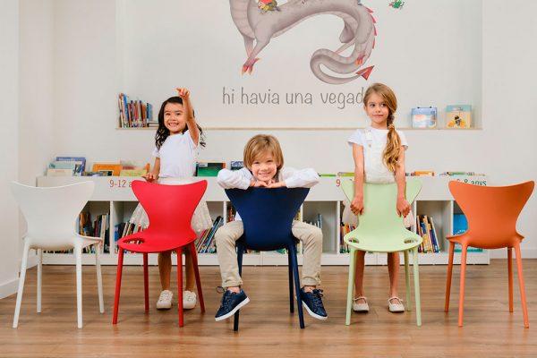 silla love mini niños vondom
